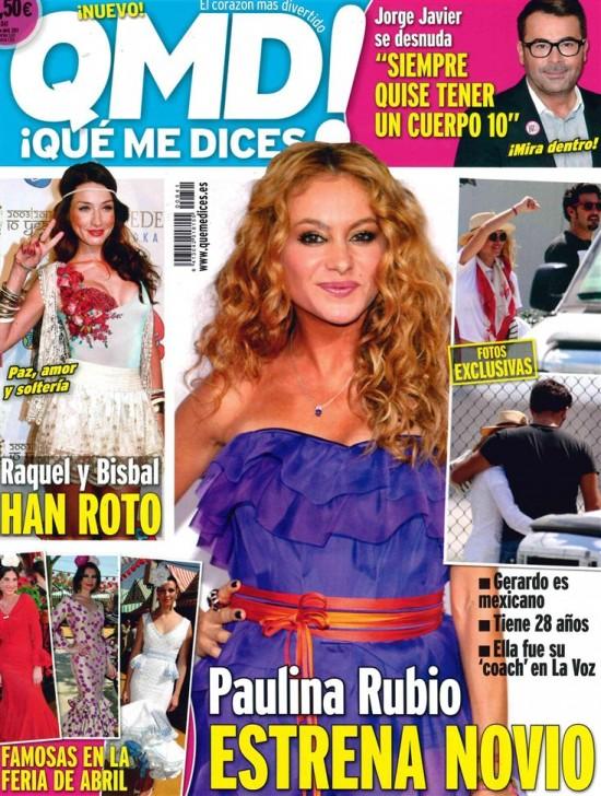 QUE ME DICES portada 22 de Abril 2013
