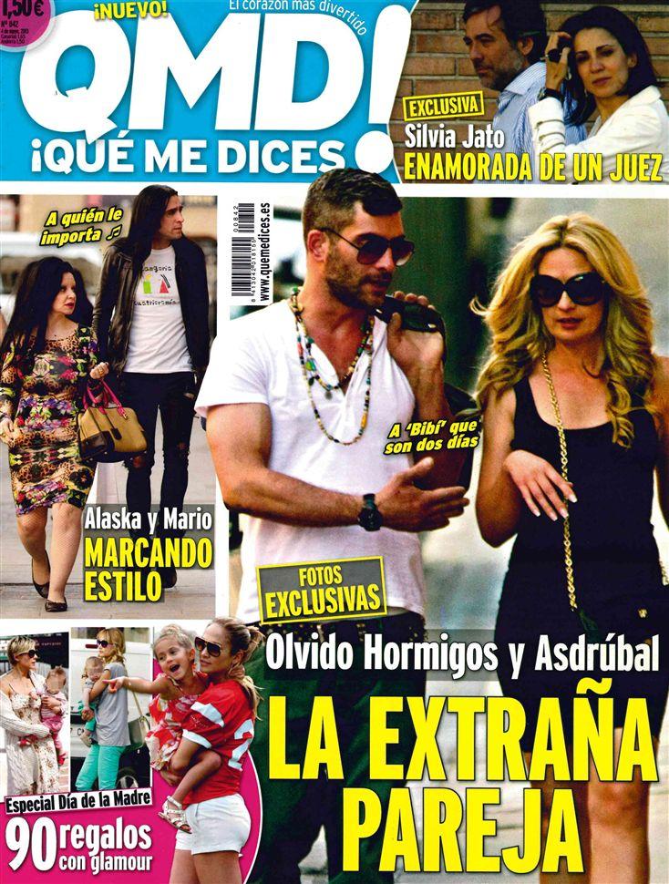 QUE ME DICES portada 29 de Abril 2013