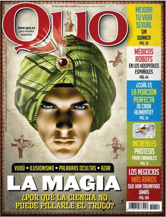 QUO portada Mayo 2013
