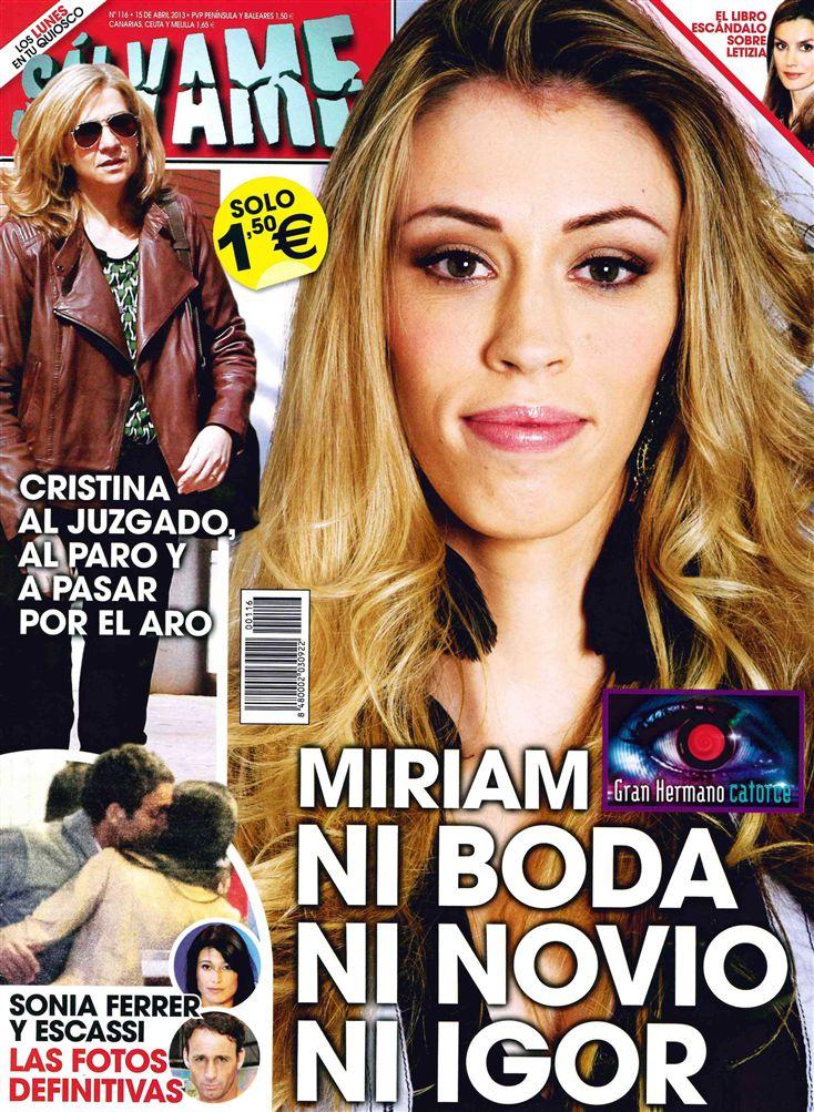 SALVAME portada 08 de Abril 2013