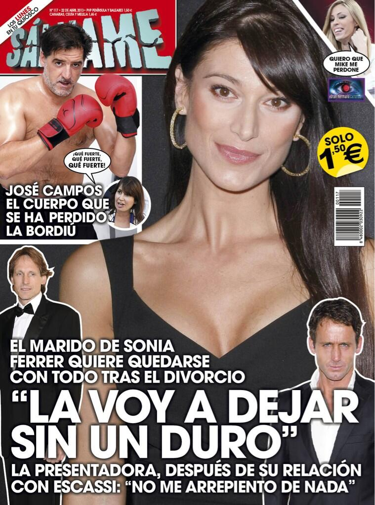 SALVAME portada 15 de Abril 2013