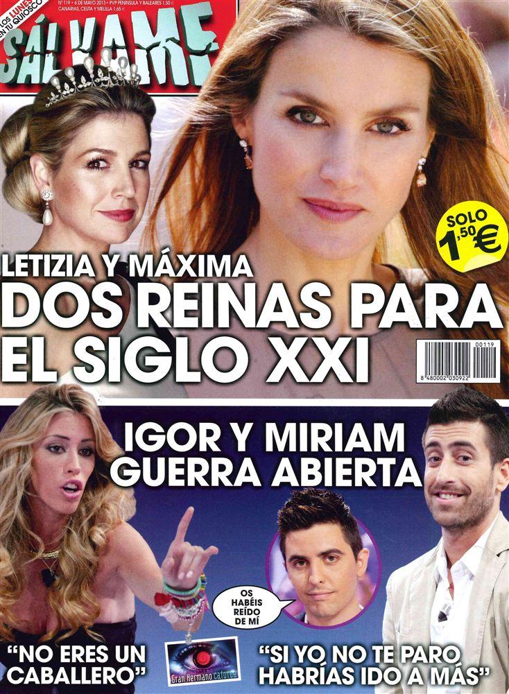 SALVAME portada 29 de Abril 2013