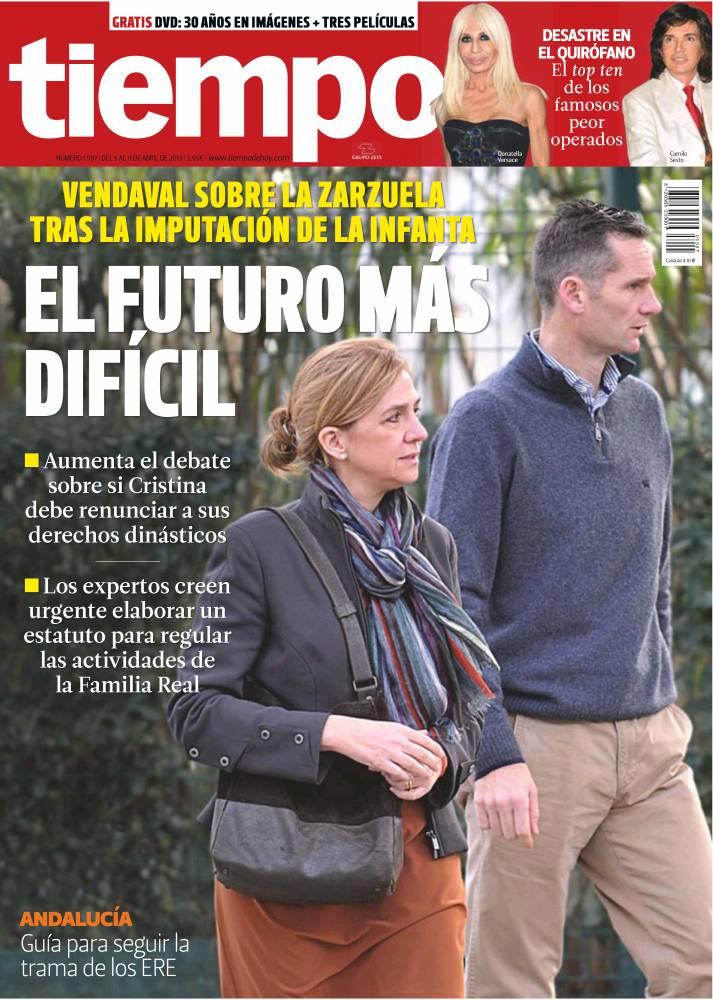 TIEMPO portada 07 de Abril 2013