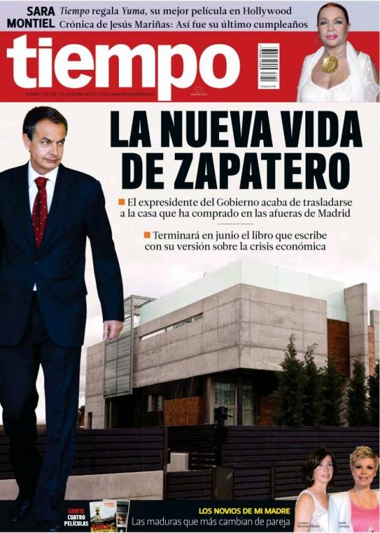 TIEMPO portada 14 de Abril de 2013