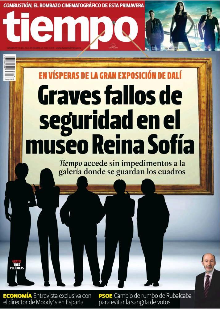 TIEMPO portada 21 de Abril de 2013