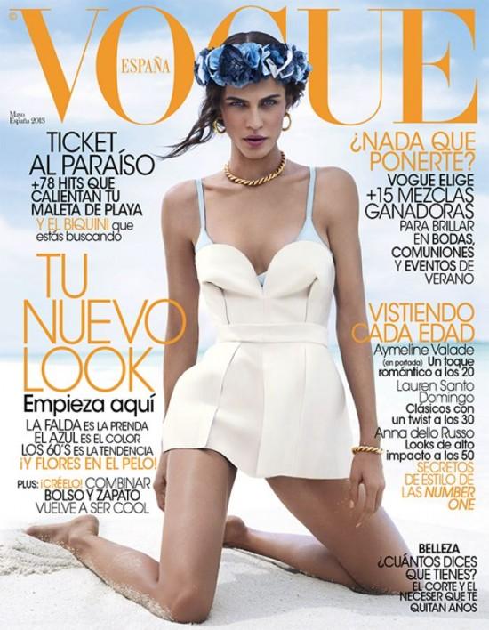 VOGUE portada Mayo 2013