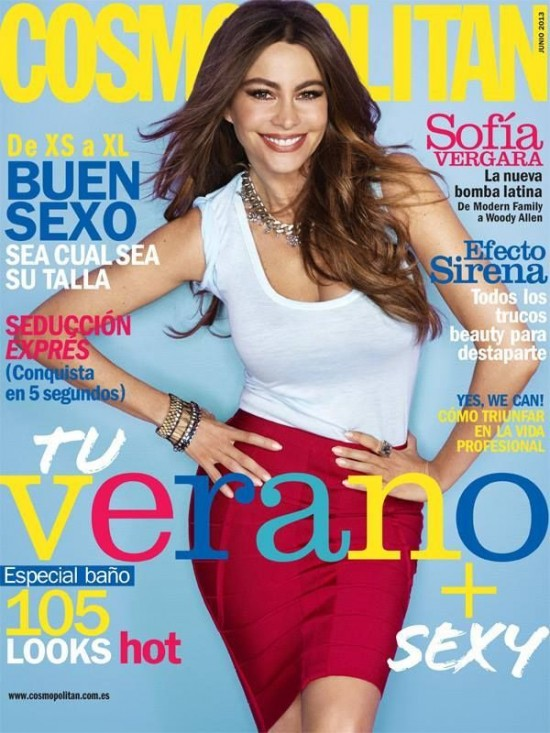 COSMOPOLITAN portada Junio 2013