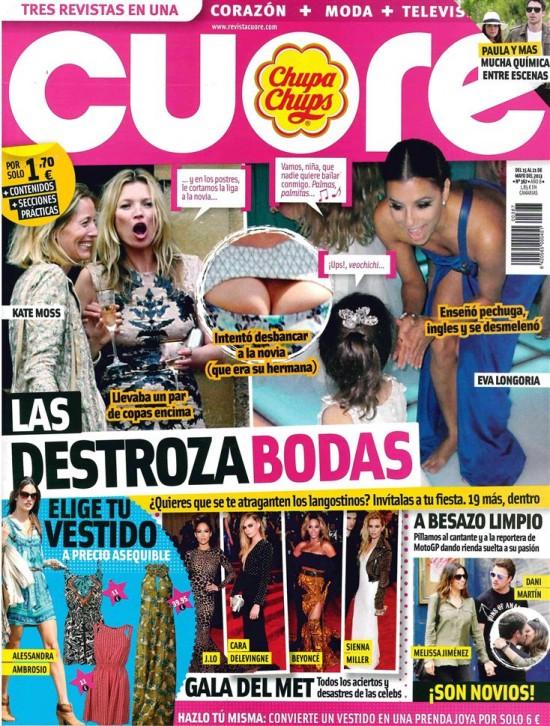 CUORE portada 15 de Mayo 2013