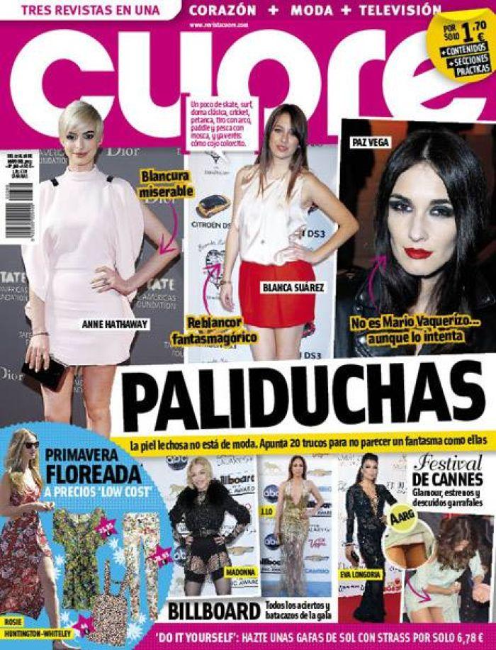 CUORE portada 22 de Mayo 2013