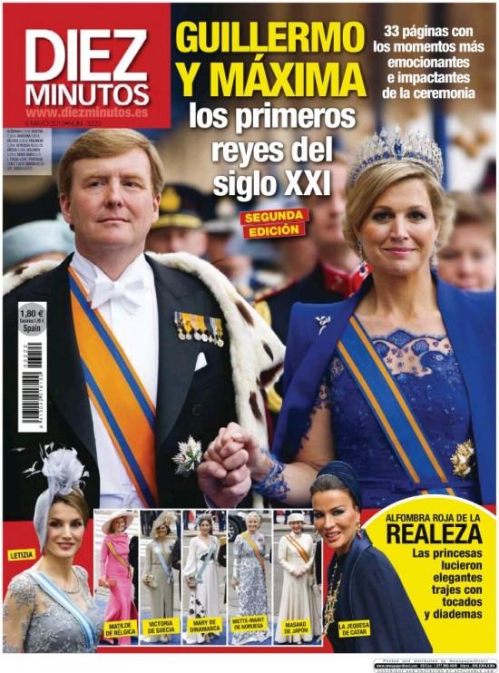 DIEZ MINUTOS portada 02 de Mayo 2013
