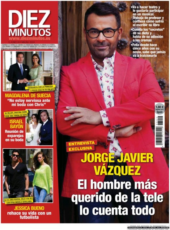 Revista diez minutos revista del corazn con todas las 2015 for Rev diez minutos