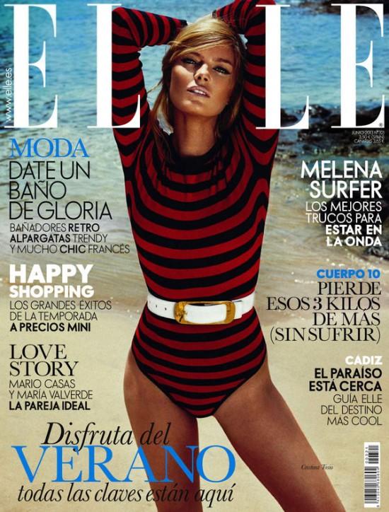 ELLE portada Junio 2013