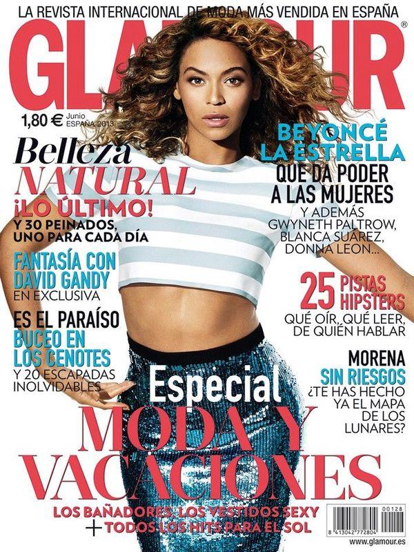GLAMOUR portada Junio 2013