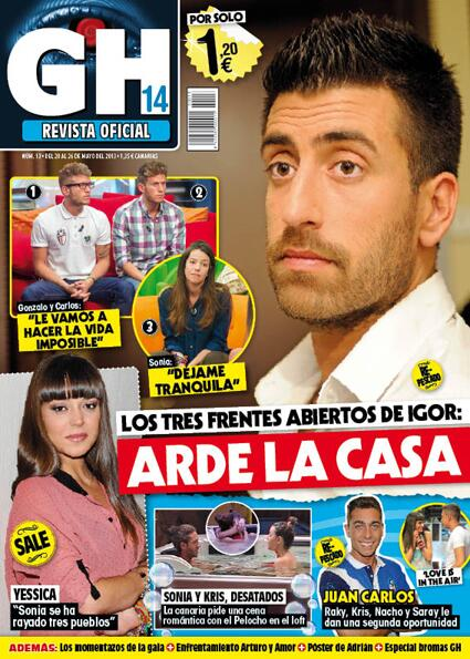 GRAN HERMANO portada 21 de Mayo 2013