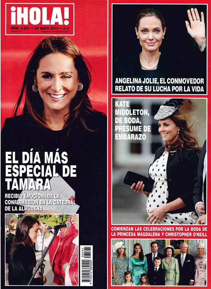 HOLA portada 22 de Mayo 2013