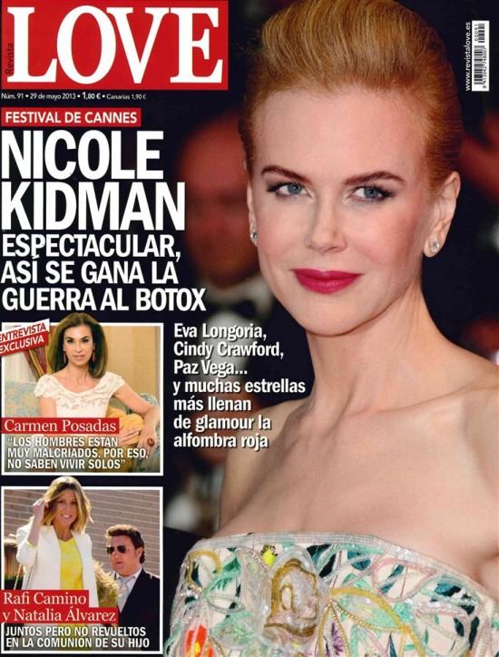 LOVE portada 22 de Mayo 2013