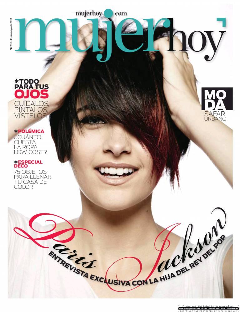 MUJER HOY portada 19 de Mayo 2013