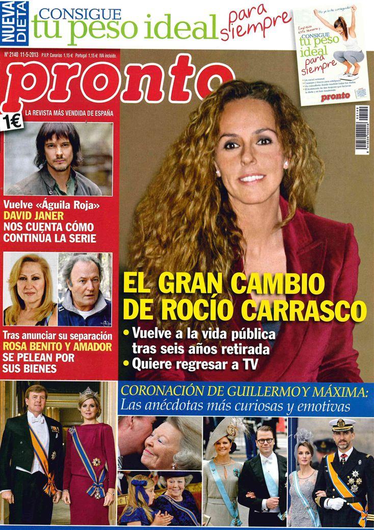 PRONTO portada 06 de Mayo 2013