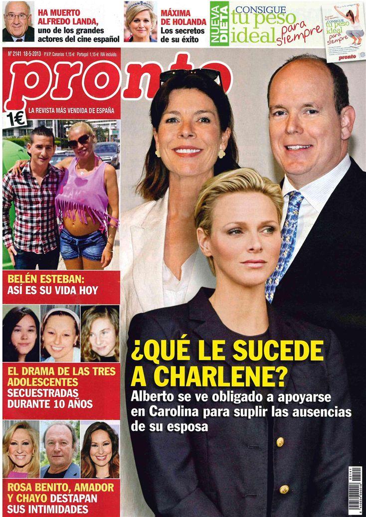 PRONTO portada 13 de Mayo 2013