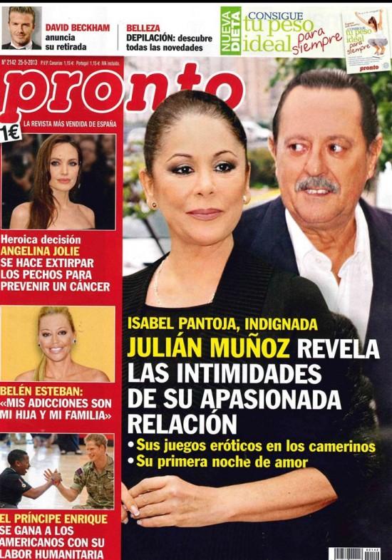 PRONTO portada 20 de Mayo 2013
