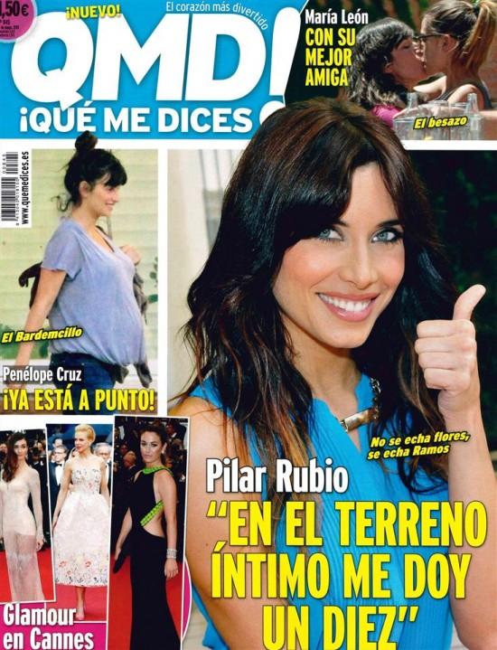 QUE ME DICES portada de Mayo 2013