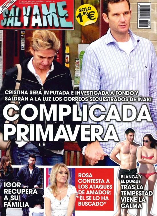 SALVAME portada 06 de Mayo 2013