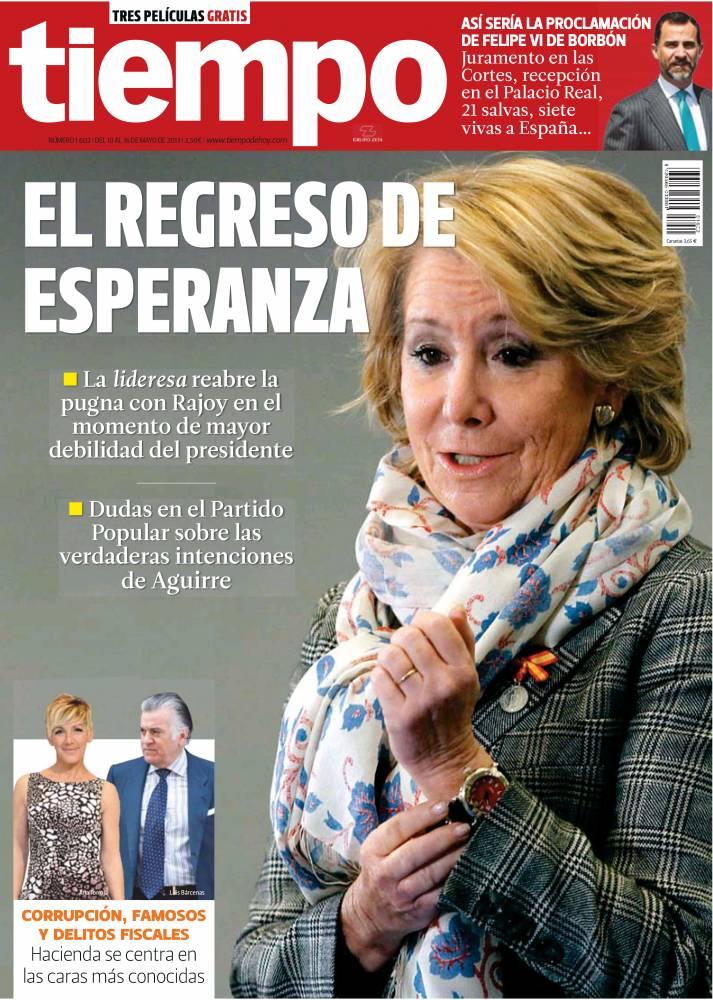 TIEMPO portada 10 de Mayo 2013