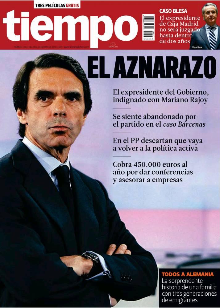 TIEMPO portada 26 de Mayo 2013