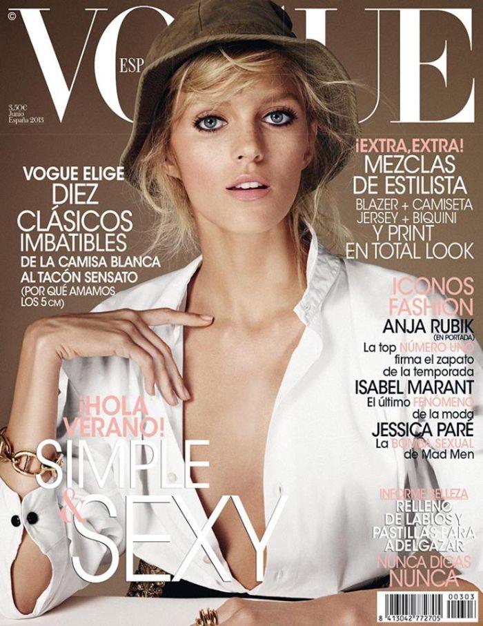 VOGUE portada Junio 2013