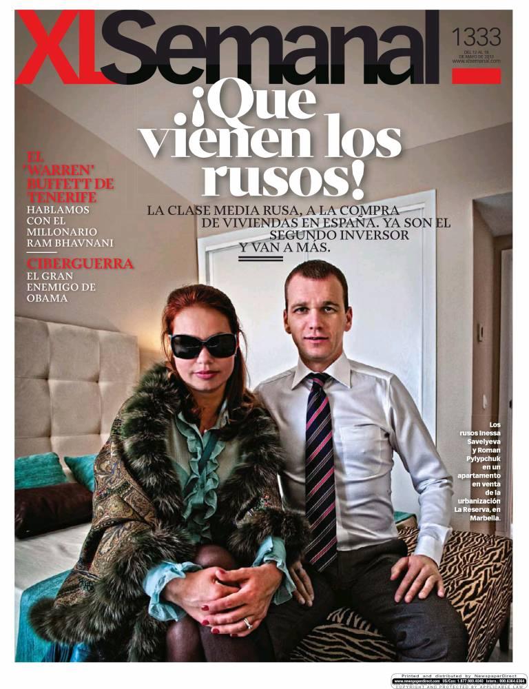 XL SEMANAL portada 13 de Mayo 2013