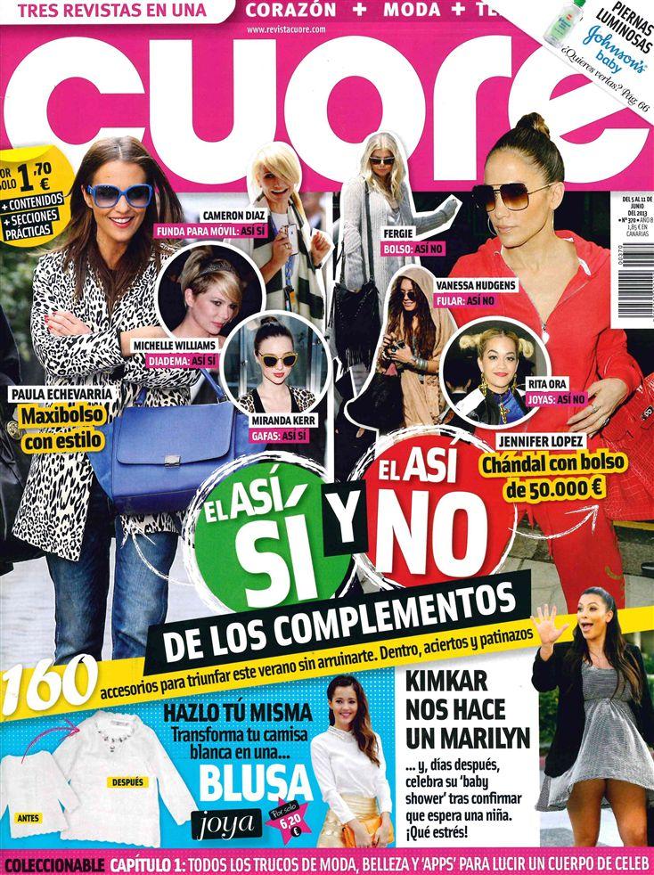 CUORE portada 5 de Junio 2013
