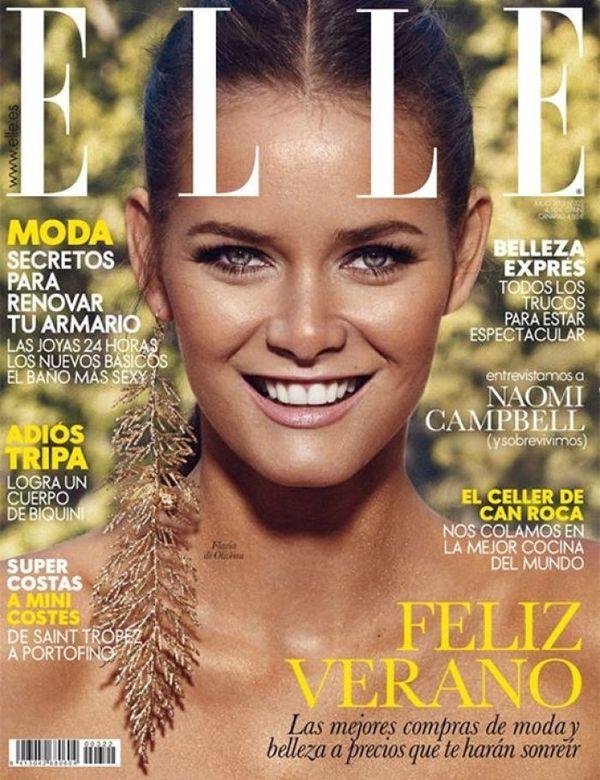 ELLE portada Julio 2013