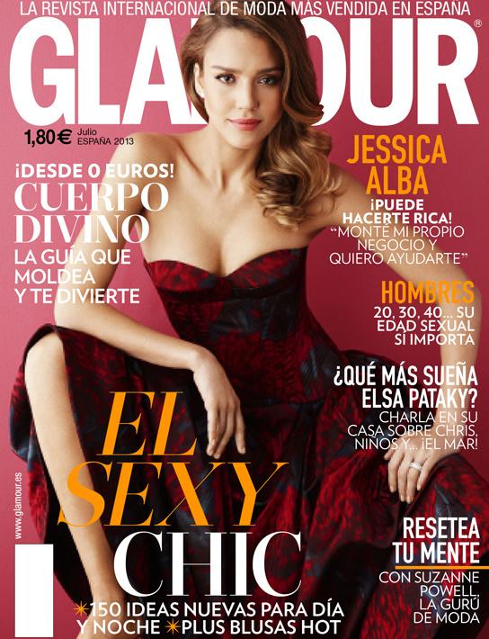 GLAMOUR portada Julio 2013