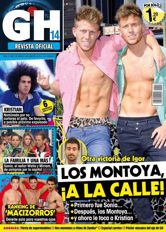 GRAN HERMANO portada 05 de Junio 2013