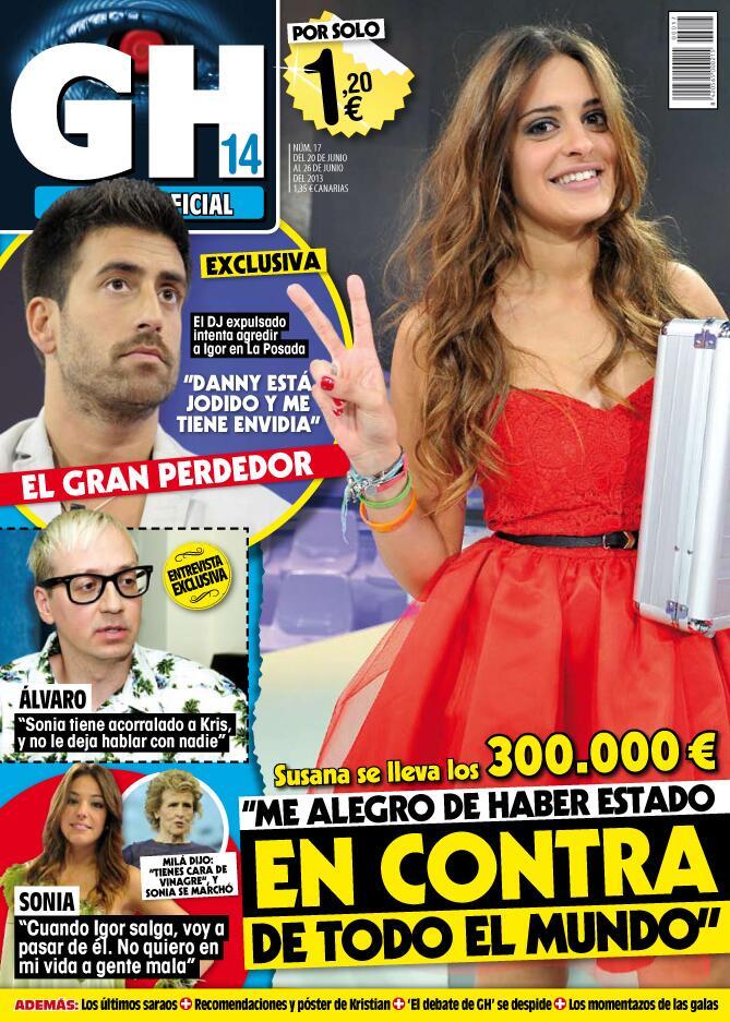 GRAN HERMANO portada 21 de Junio 2013