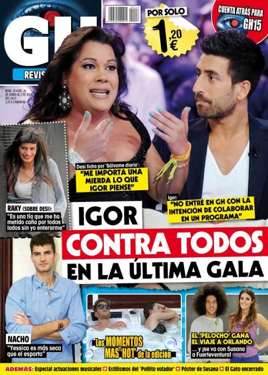 GRAN HERMANO portada 27 de Junio 2013