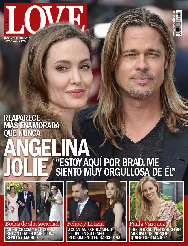 LOVE portada 05 de Junio 2013