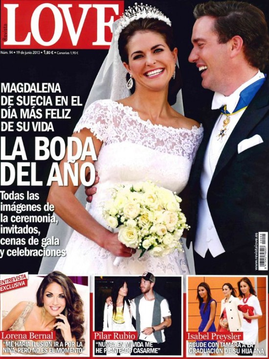 LOVE portada 10 de Junio 2013