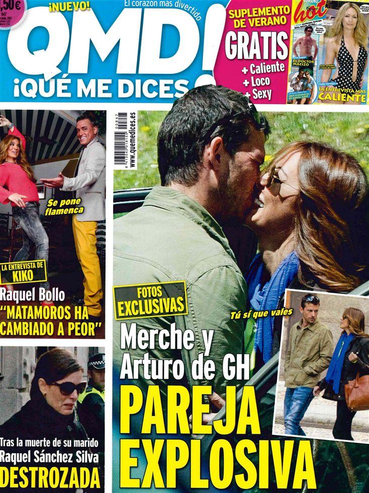 QUE ME DICES portada 03 de junio 2013