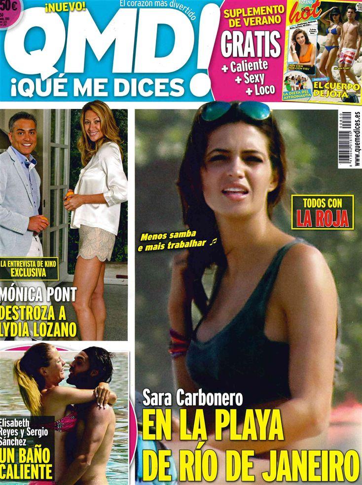 QUE ME DICES portada 24 de Junio 2013