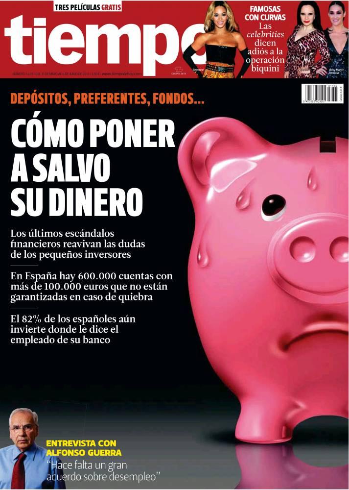 TIEMPO portada 02 de Junio 2013