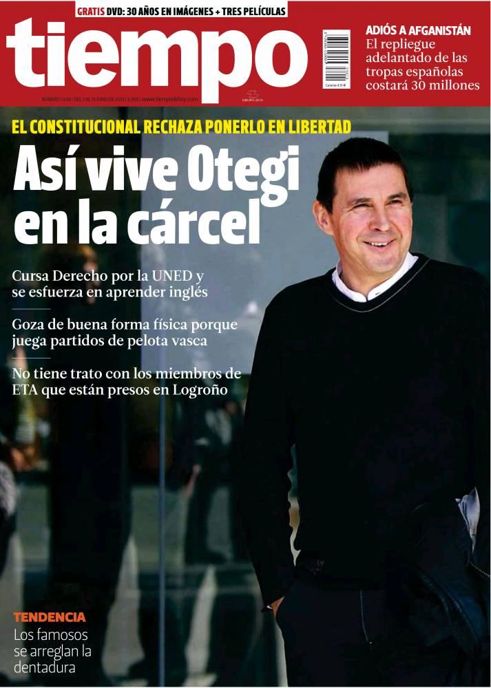 TIEMPO portada 9 de junio 2013
