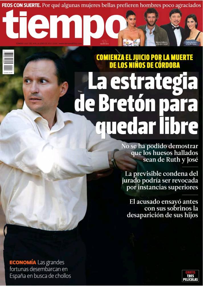 TIEMPO portada 16 de Junio 2013