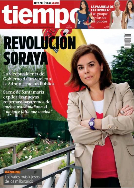 TIEMPO portada 23 de Junio 2013
