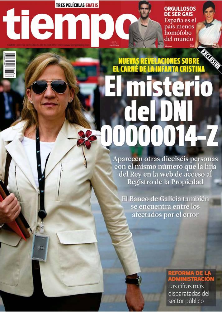 TIEMPO portada 30 de Junio 2013