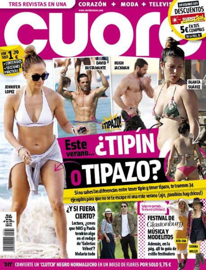 CUORE portada 08 de Julio 2013