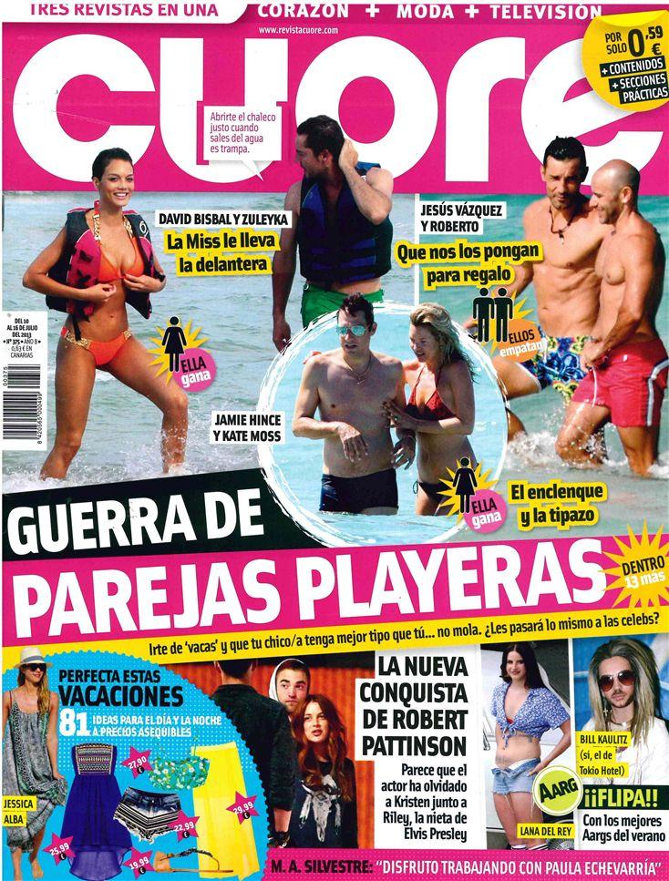 CUORE portada 10 de Julio 2013