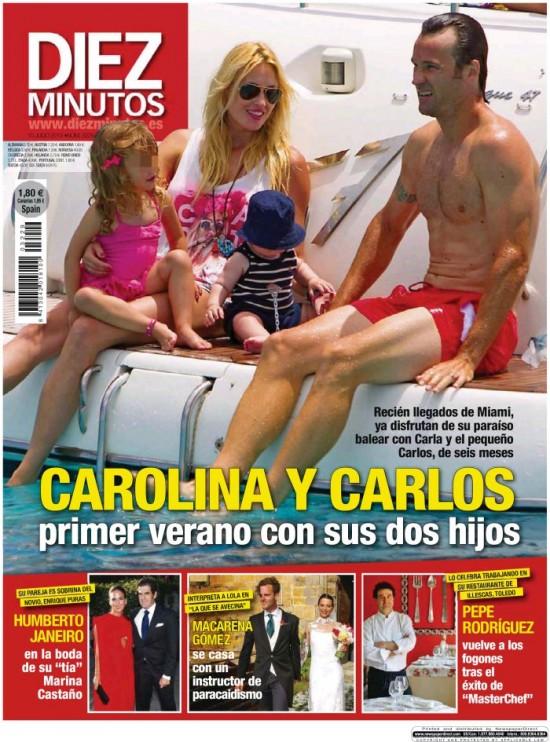 DIEZ MINUTOS portada 8 de Julio 2013