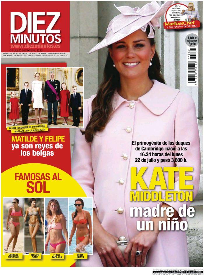 DIEZ MINUTOS portada 24 de Julio 2013