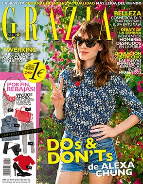 GRZIA portada 08 de Julio 2013